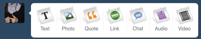 Tumblr – microblogging