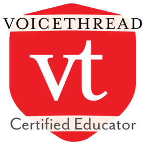 VoiceThread Certified Educator badge