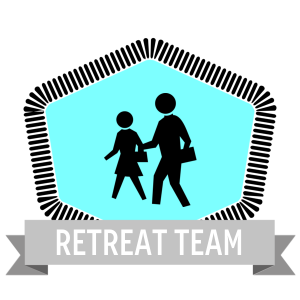 Created a badge for the retreat team in Credly