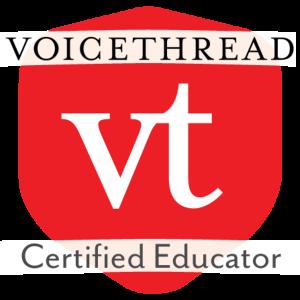 VoiceThread Certified Educator badge